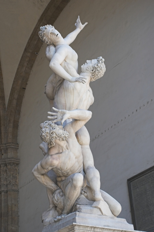 """The Rape of the Sabine Women"" ~ Giambologna"