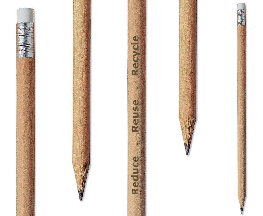 These are a few basic wooden pencils.